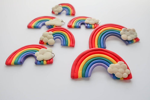 Mom's Rainbow Brooch