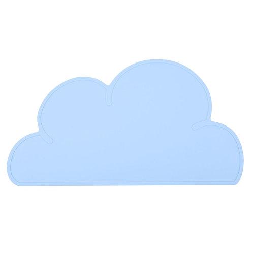 Cloud Shaped Dinner Mat Sky Blue