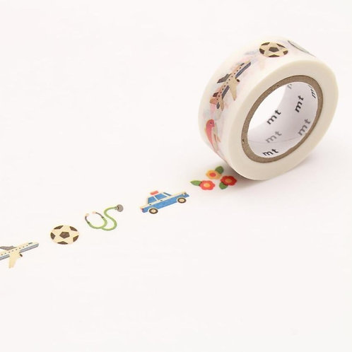 MT For Kids Washi Tape Work - Tool