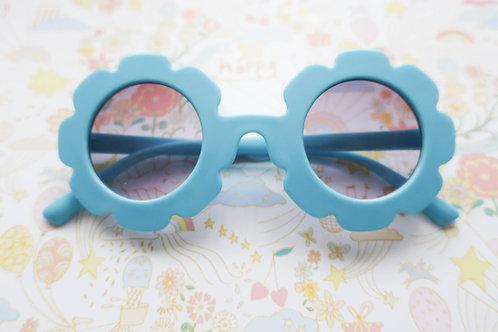 Cornflower Blue Flower Sunglasses