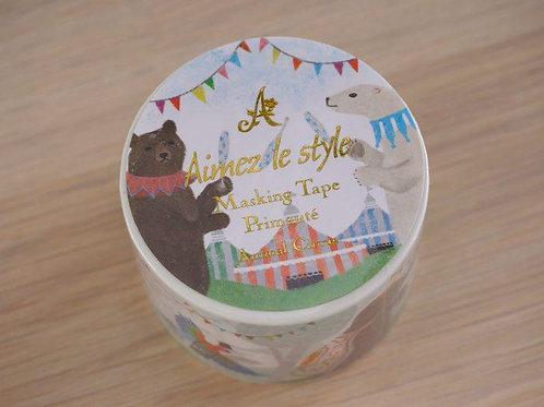 Animal Circus Washi Tape