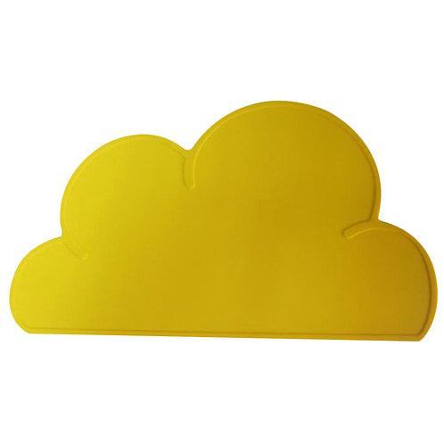Cloud Shaped Dinner Mat Sunshine Yellow