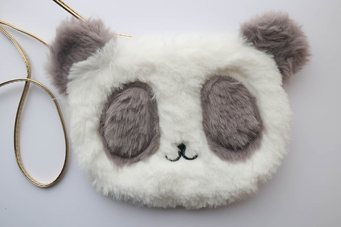 Furry Panda Bag