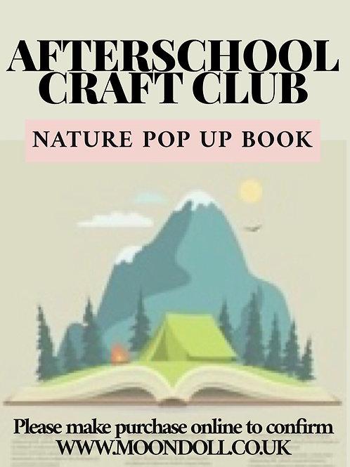 Afterschool Craft Club - Pop Up Book