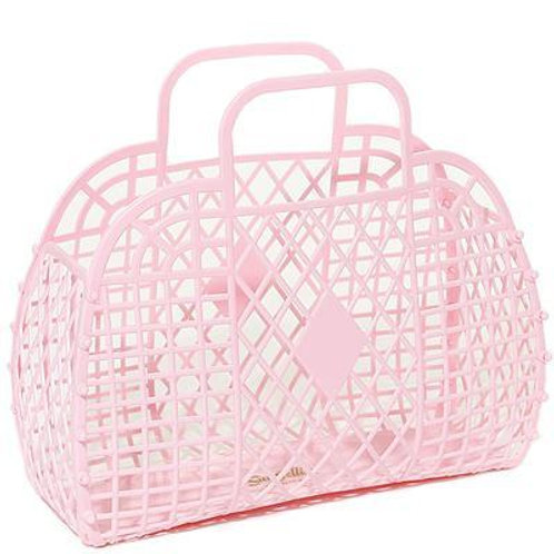 Pastel Pink Jelly Bag Small