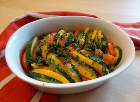 Gemüseauflauf Tricolore