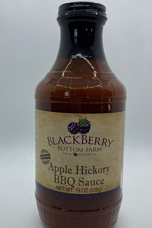 Apple Hickory BBQ Sauce