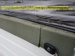 Flat Roof Edge Trim Inspection