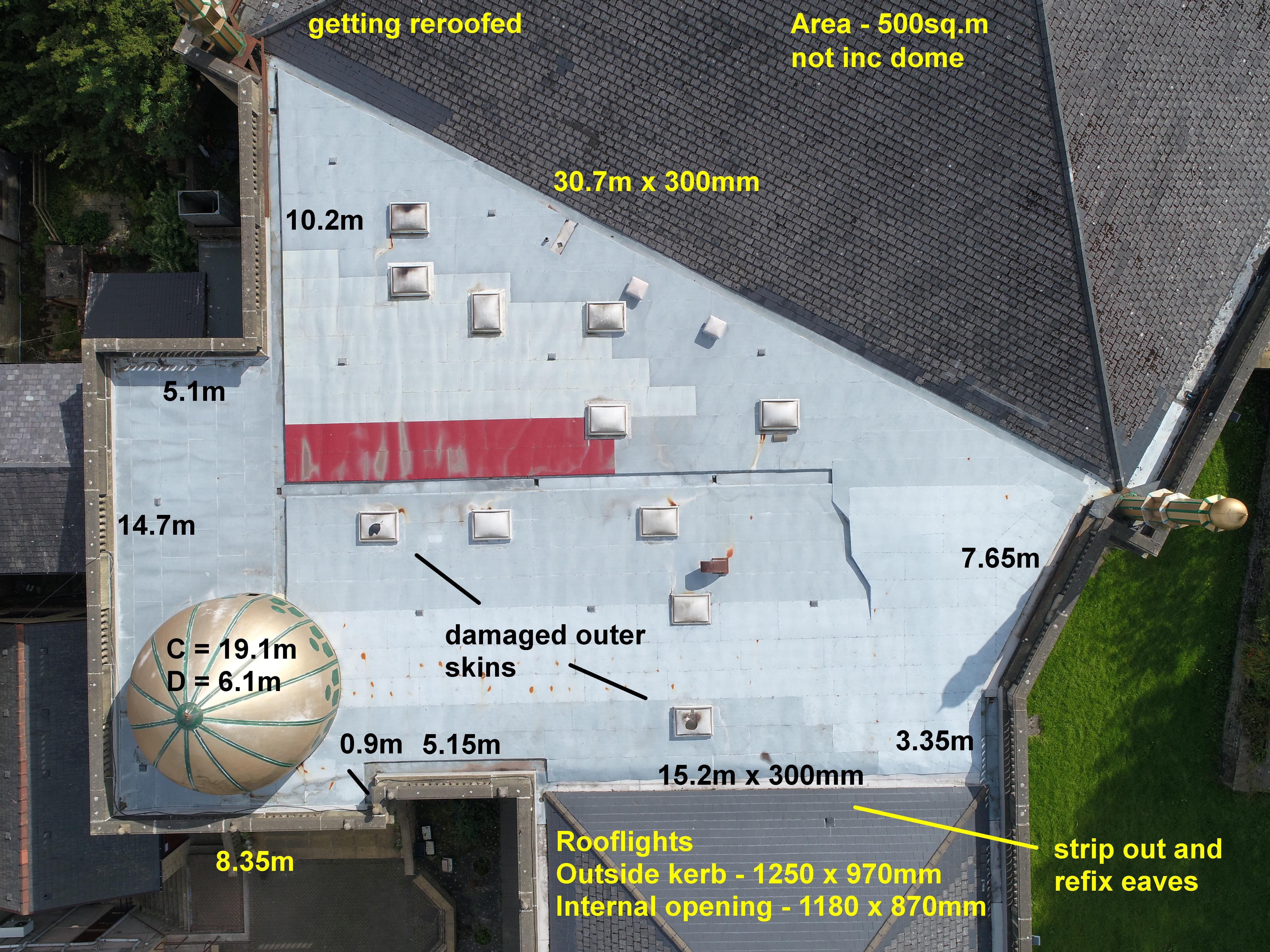 Flat roof Survey