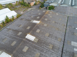 Fragile Roof Aerial Inspection