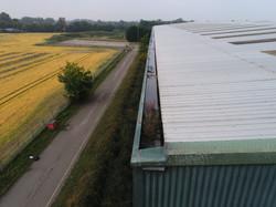 Industrial Roof Gutter Inspection
