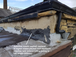 Flat Roof Upstand Inspection