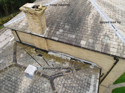 Roof & Chimney Aerial Inspection