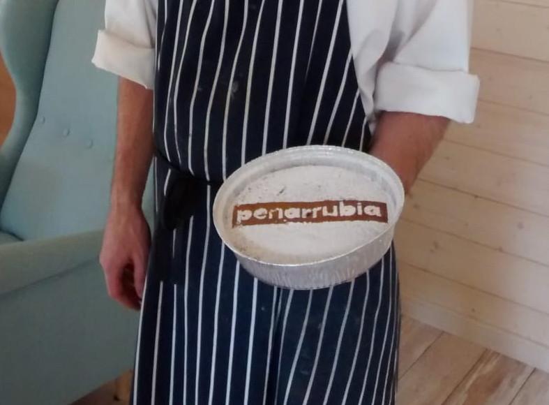 Tarta hecha por nuestro chef