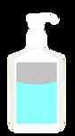 hand-sanitizer-pump-bottle whimsy cleaning sanitization by nikki owen sound studio art artist painting party