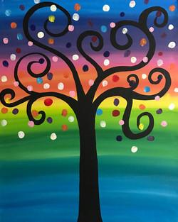 Rainbow Wishing Tree