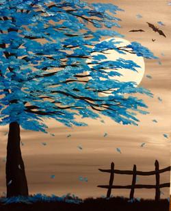 Blue Autumn's Night