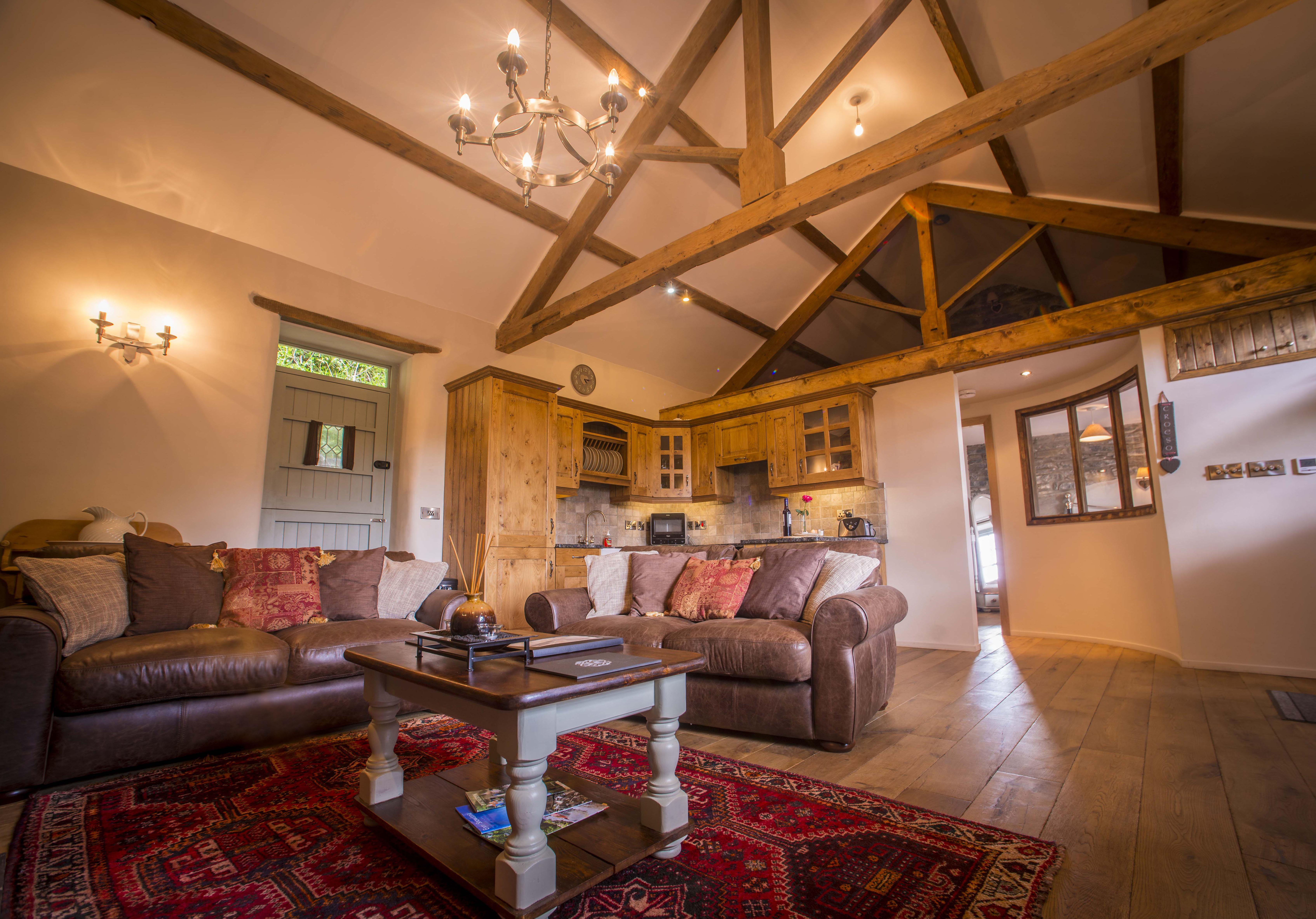 Dolydd Cottage Living Room