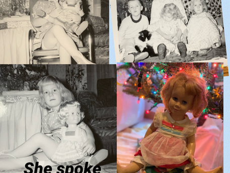 Christmas 1961 - She Spoke Volumes