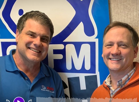Guest on 94.1 The Fish Podcast