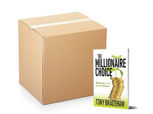 The Millionaire Choice (Community Impact Box, 30 Books)