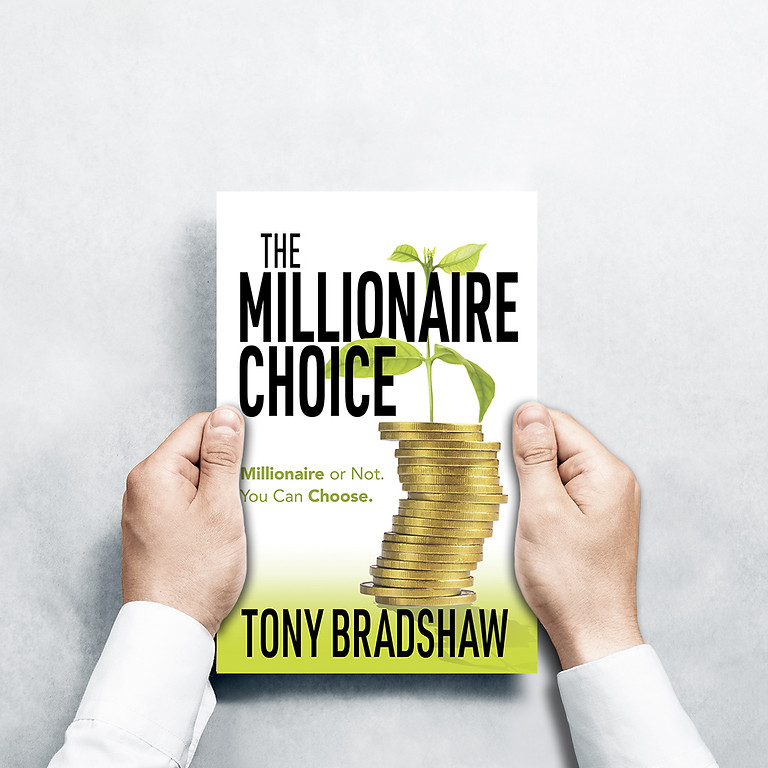 The Millionaire Choice Book Launch Party