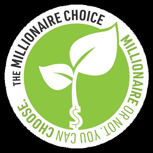 Millionaire Choice Sticker