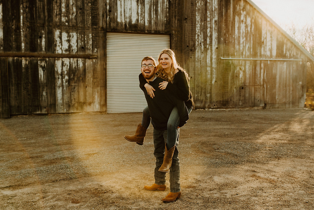 Modesto CA Barn engagement session in the Winter. Barn engagement inspo. rustic engagement inspo. barn engagements. sun flare photos. Modesto wedding photographer // Modesto engagement photographer // Modesto elopement photographer // Modesto photographer // Barn engagement photos // Rustic barn engagement photos // Modesto CA // Save the date inspo // norcal photographer //couple inspo //northern california wedding photographer //california wedding photographer //elopement photographer // @hardenwesley