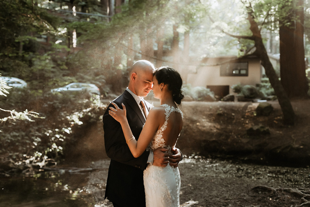 Mill Valley intimate COVID Elopement