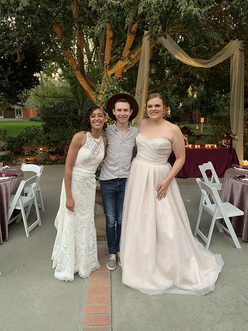 LGBTQ+ Wedding photographer // Lesbian wedding Sacramento CA