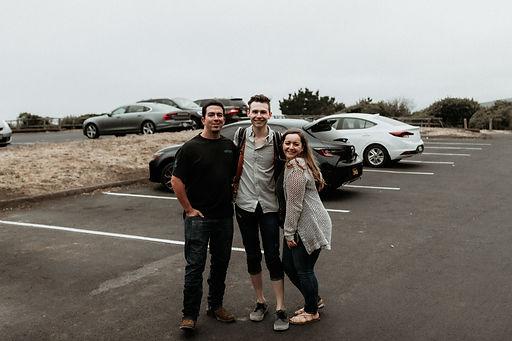Stephanie + Christopher Muir Beach Engag