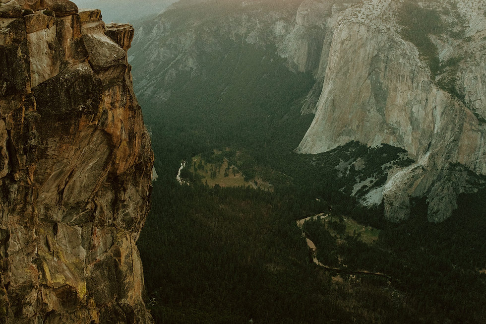 Yosemite Valley Photos View from Taft Point