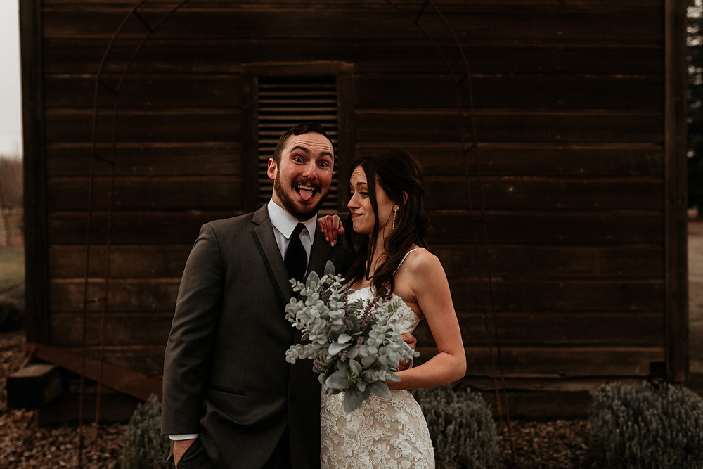 Emotional Intimate Modesto CA Barn Wedding