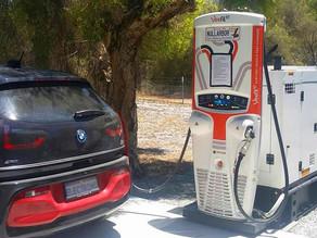 Die Verwendung von Diesel zum Laden von E-Autos im Outback ist umweltfreundlicher als man denkt