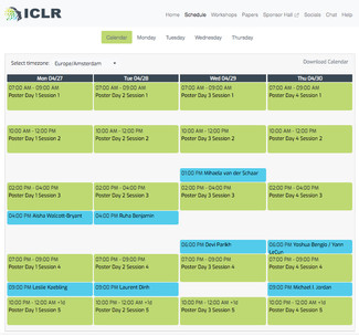 ICLR 2020 - Already famous and influential – tips to navigate the schedule
