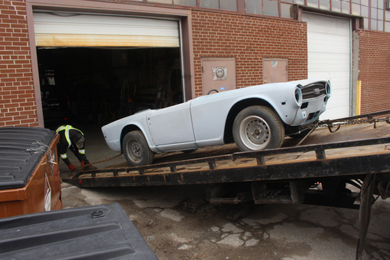 The first TR6 in the horde - continued