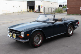 1973 TR6 - Another Completed Rusty Beauty
