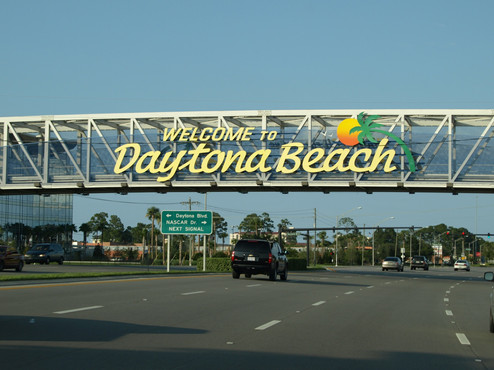 USA: Florida - Disney World, Universal, Daytona Beach.