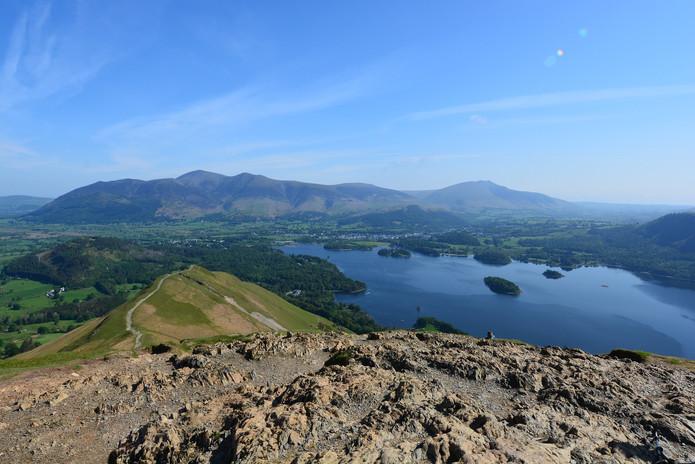 England: Lake District - Windermere, Ullswater, Derwent Water.