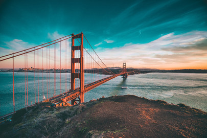 USA California: San Francisco, San Luis Obispo, Laguna Beach, Huntingdon Beach