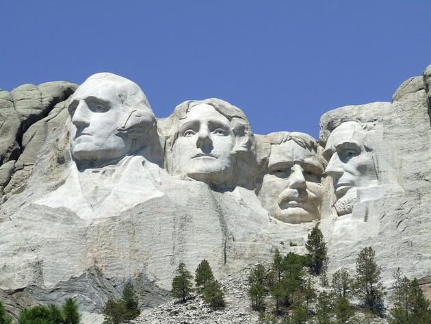 USA South Dakota: Rapid City, Mount Rushmore