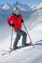 France: Skiing.