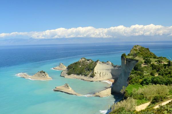 Greece: Corfu, Crete