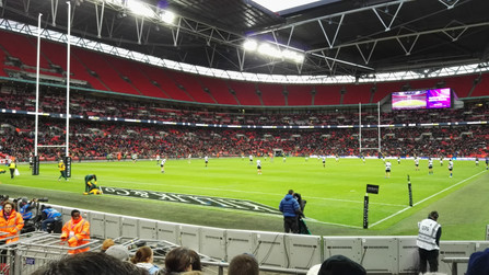 Sporting Events: South Africa -v- The Barbarians at Wembley Stadium 2016.