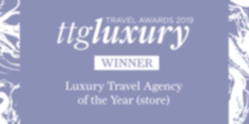 ttgluxury awards 2019 WINNER Luxury Trav