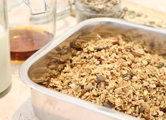 Almond Cinnamon Crunch Granola