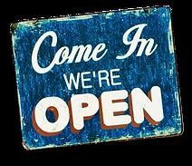 pngfind.com-come-in-were-open-3798388.pn