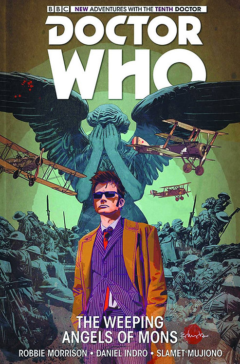 DOCTOR WHO 10TH FACING FATE TP VOL 02  WEEPING ANGELS OF MONS