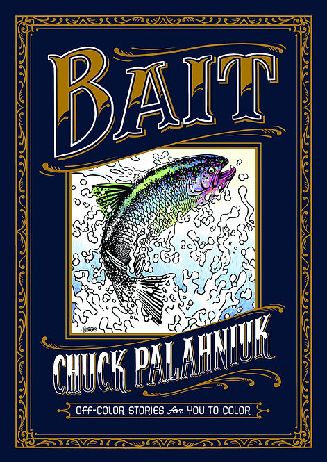 BAIT OFF COLOR STORIES FOR YOU TO COLOR HC