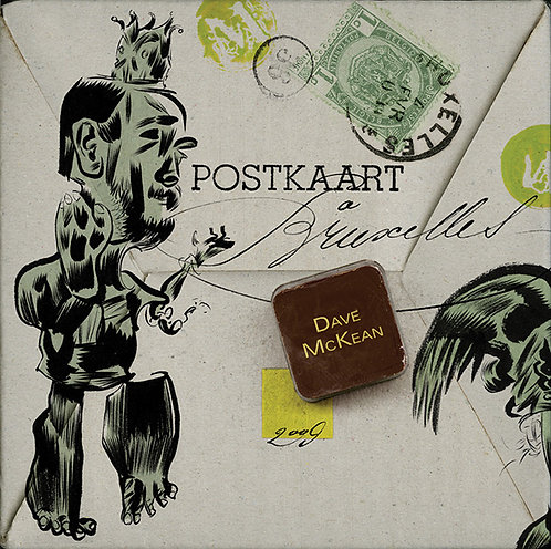 DAVE MCKEAN POSTCARDS FROM BRUSSELS (SIGNED)